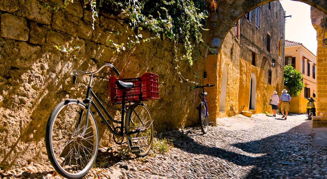 Rodos Bisiklet Gezisi