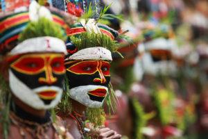 Goroko Festivali   Papua Yeni Gine